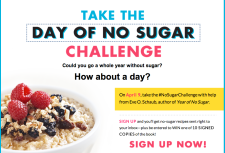 Day Of No Sugar Challenge