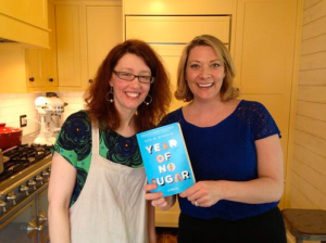 Julie Kelley and Eve Schaub Author Year of No Sugar